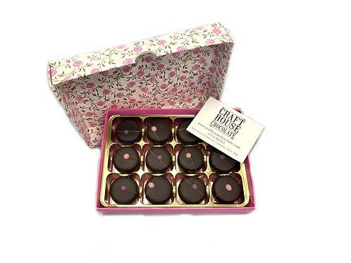 Rose & Violet Creams box of 12