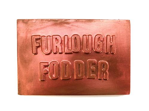 Furlough Fodder Chocolate bar