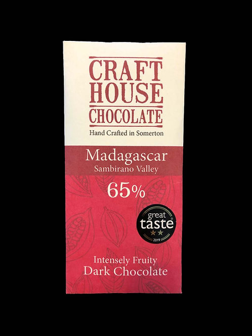 Organic Madagascan Sambirano 65% Dark Chocolate