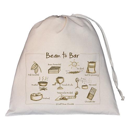 Bean to Bar Drawstring Bag