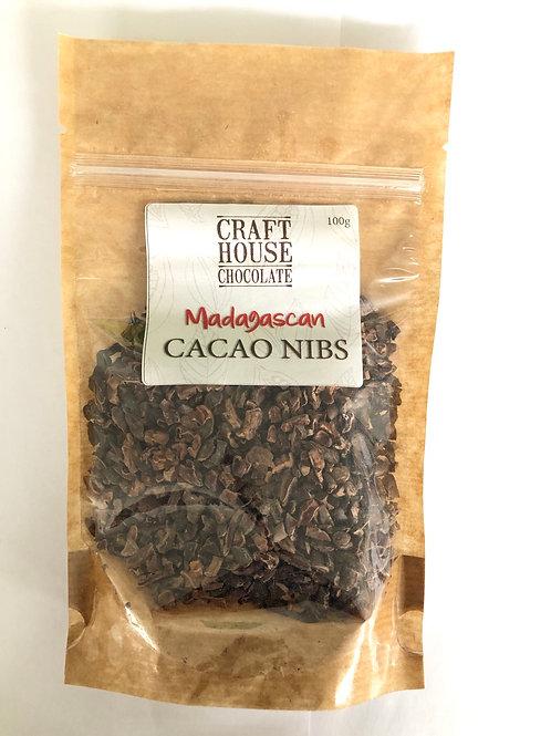 Madagascan chocolate nibs