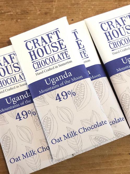 Ugandan Oat Milk Bar Chocolate bar 49%