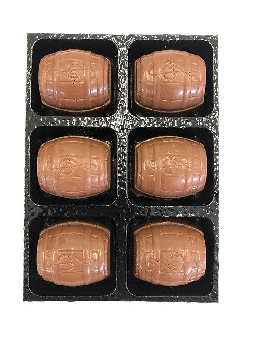 6x Rum & Raisin Chocolates