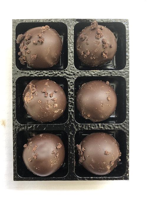 6 X Chocolate Brownie truffles