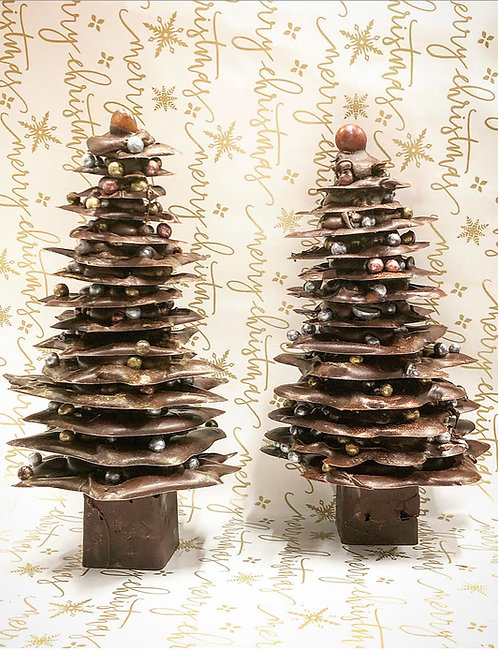Chocolate Christmas Tree Workshop for 2 people