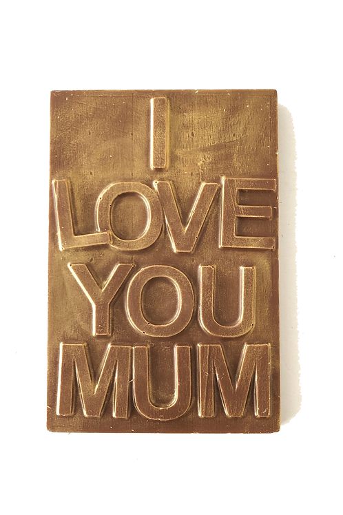 I love you Mum Chocolate Bar