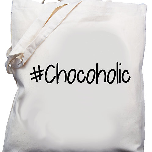 Cotton Shoulder Bag #Chocoholic