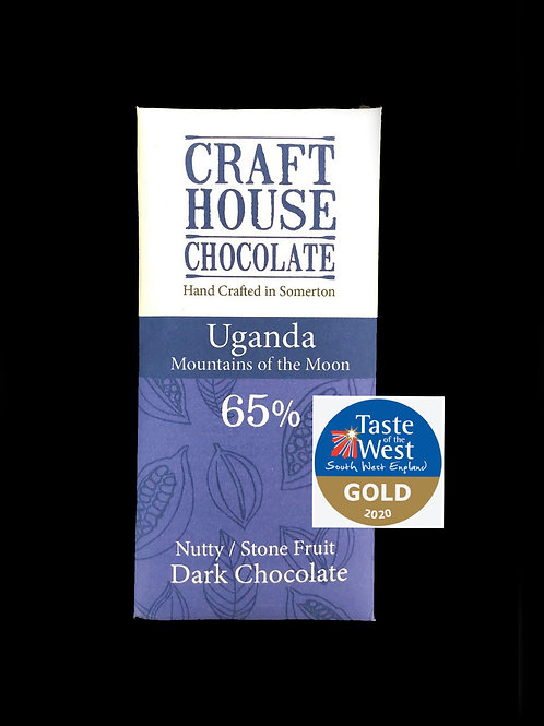 "Uganda ""Mountains Of The Moon""65% Dark Chocolate"