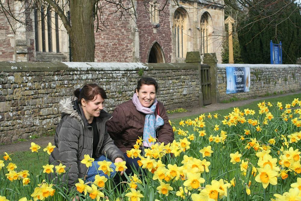Thornbury and the daffodils!