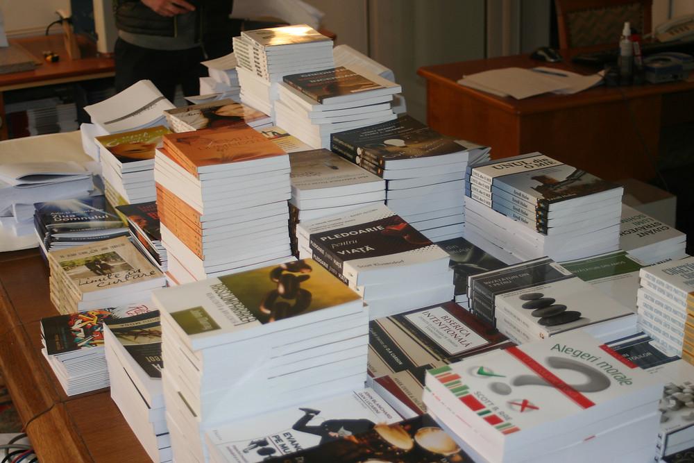 Faclia Publishing's Storeroom, Oradea, Romania