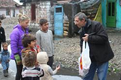 Prison - Iosif Ciungan visitng inmate families