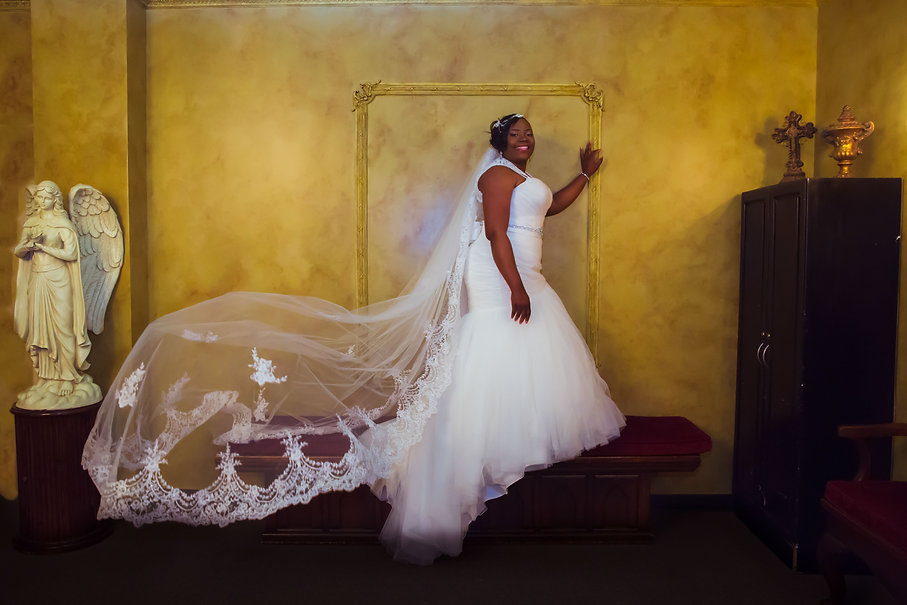 Fort worth bridal portrait