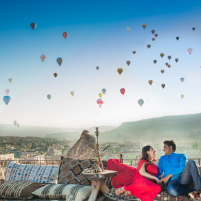 Top 6 Places for Pictures in Cappadochia, Turkey- Destination Desi Wedding Photographer from Dallas.