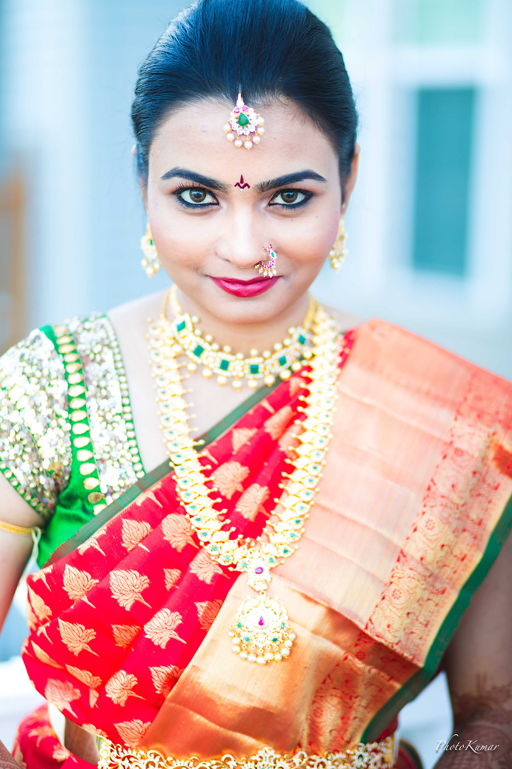 South Indian Bride- The perfect Pellikuturu- Telugu Wedding