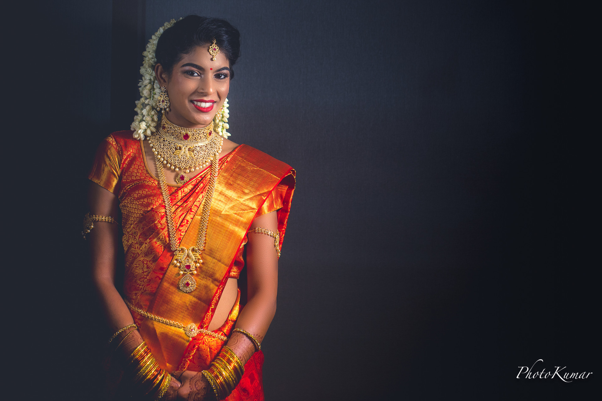 South Indain Bride at the DFW Hindu Temple.