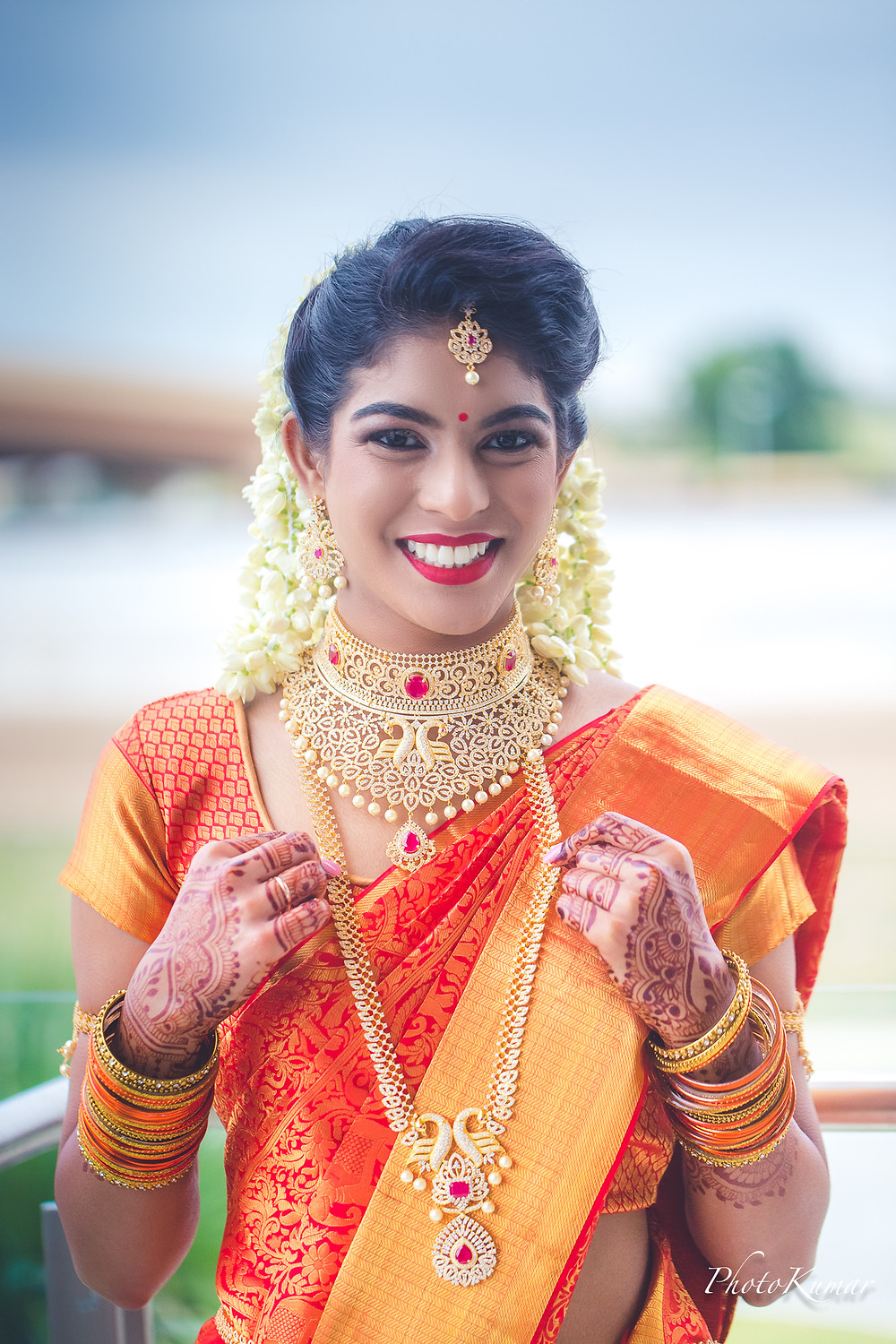 Tamil Bride- Makeup