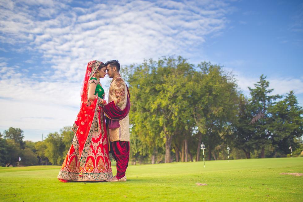 Indain wedding- Bride and Groom. Dallas, Texas.
