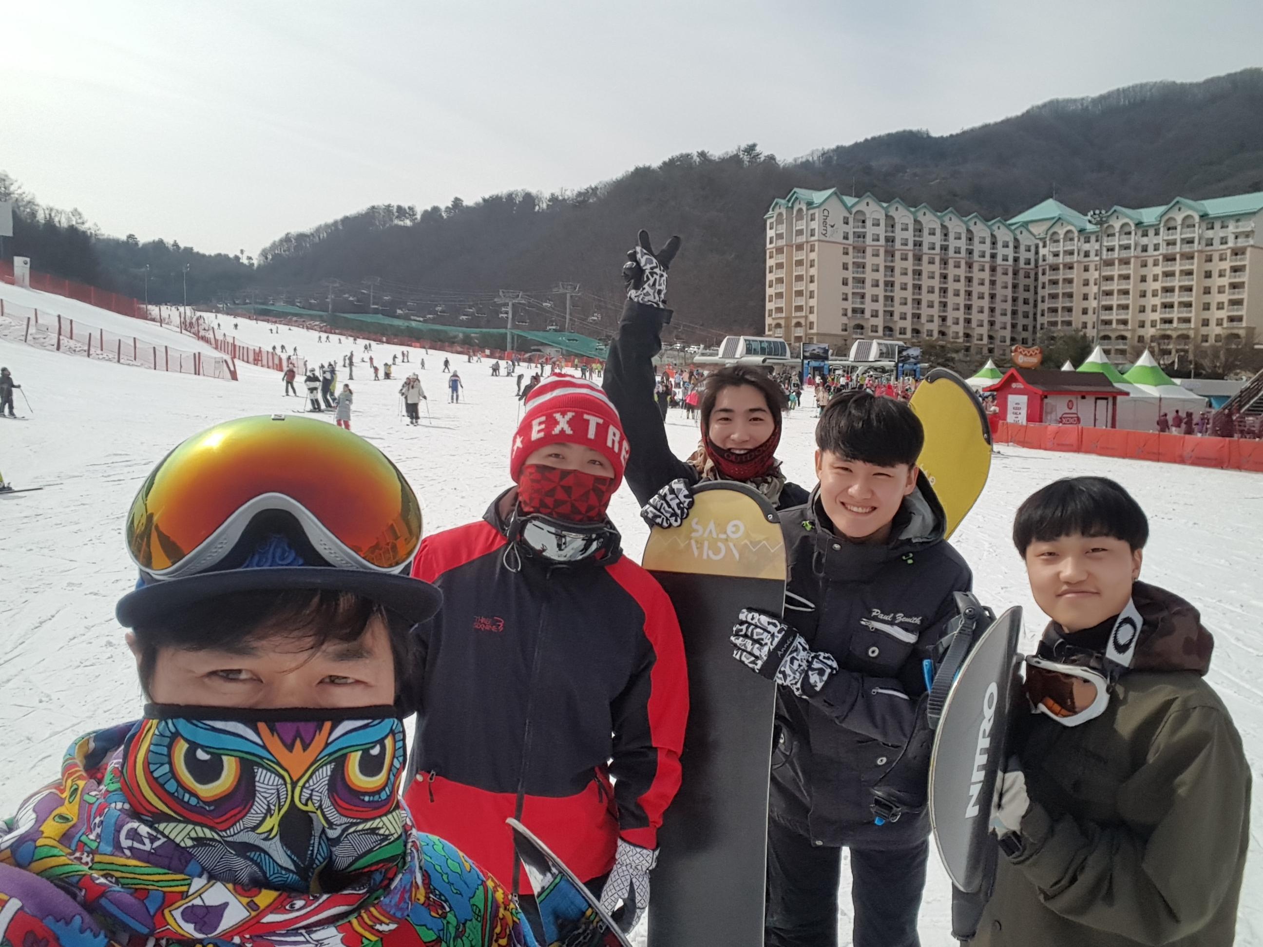 2019년 겨울 비발디파크