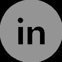 LinkedIn - Grey Circle