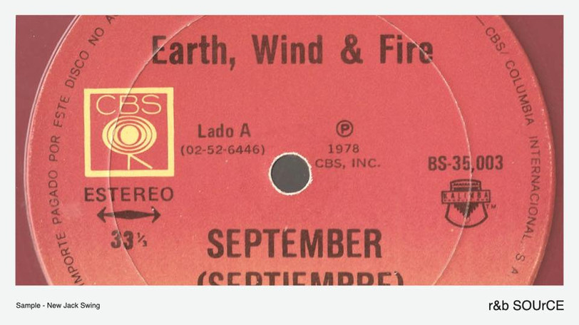 "Earth, Wind & Fire▶︎▶︎実は12月をテーマに歌った曲だった。ディスコ・ソングの超名曲""September""をサンプリングするアーティスト達。"