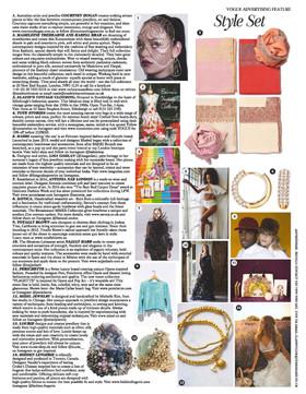 Vogue Style, June 2020