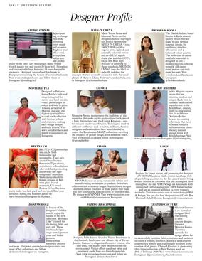 Vogue, Designer Profile, April 2020