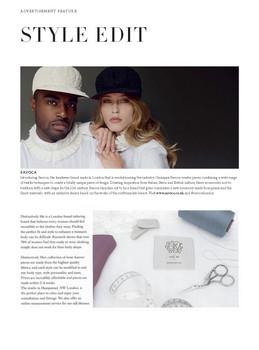 Harper's Bazaar, August 2020