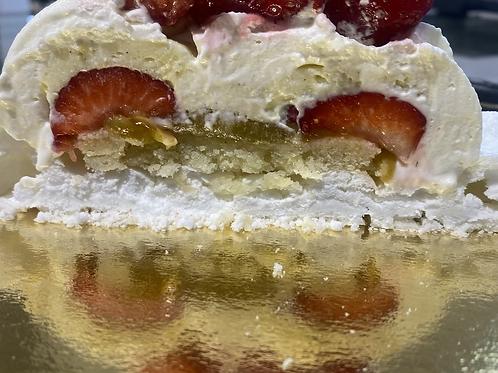 Pavlova fraises