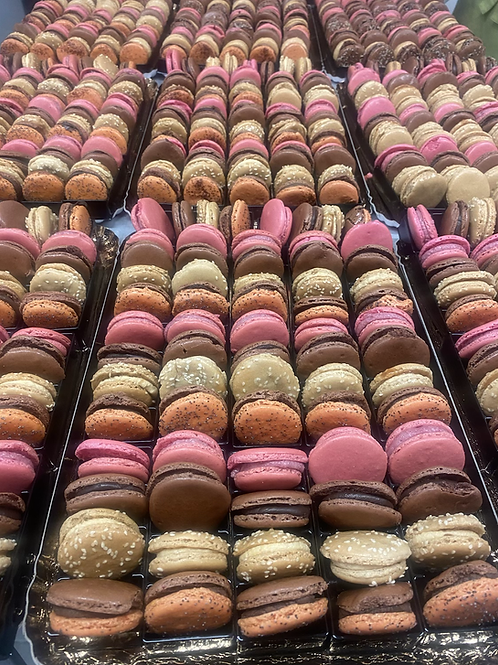 Assortiment multicolore de macarons