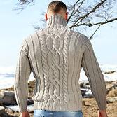 толстый шерстяной свитер с высоким воротом плотной вязки лучший подарок мурманск