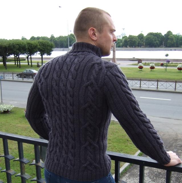 Шерстяной свитер с горлом КЕНДИ