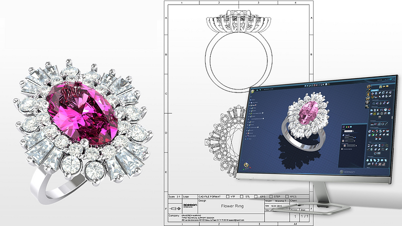 3D jewellery software