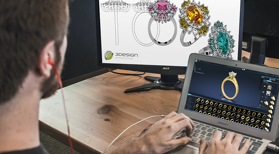 Online jewellery CAD demo
