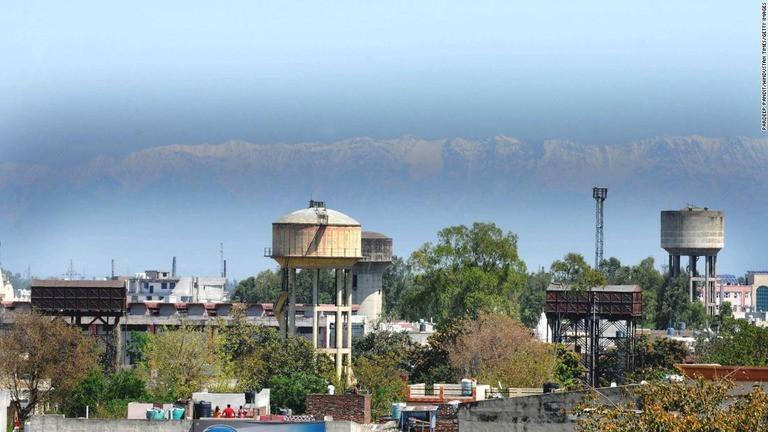 ヒマラヤがみえたインド北部