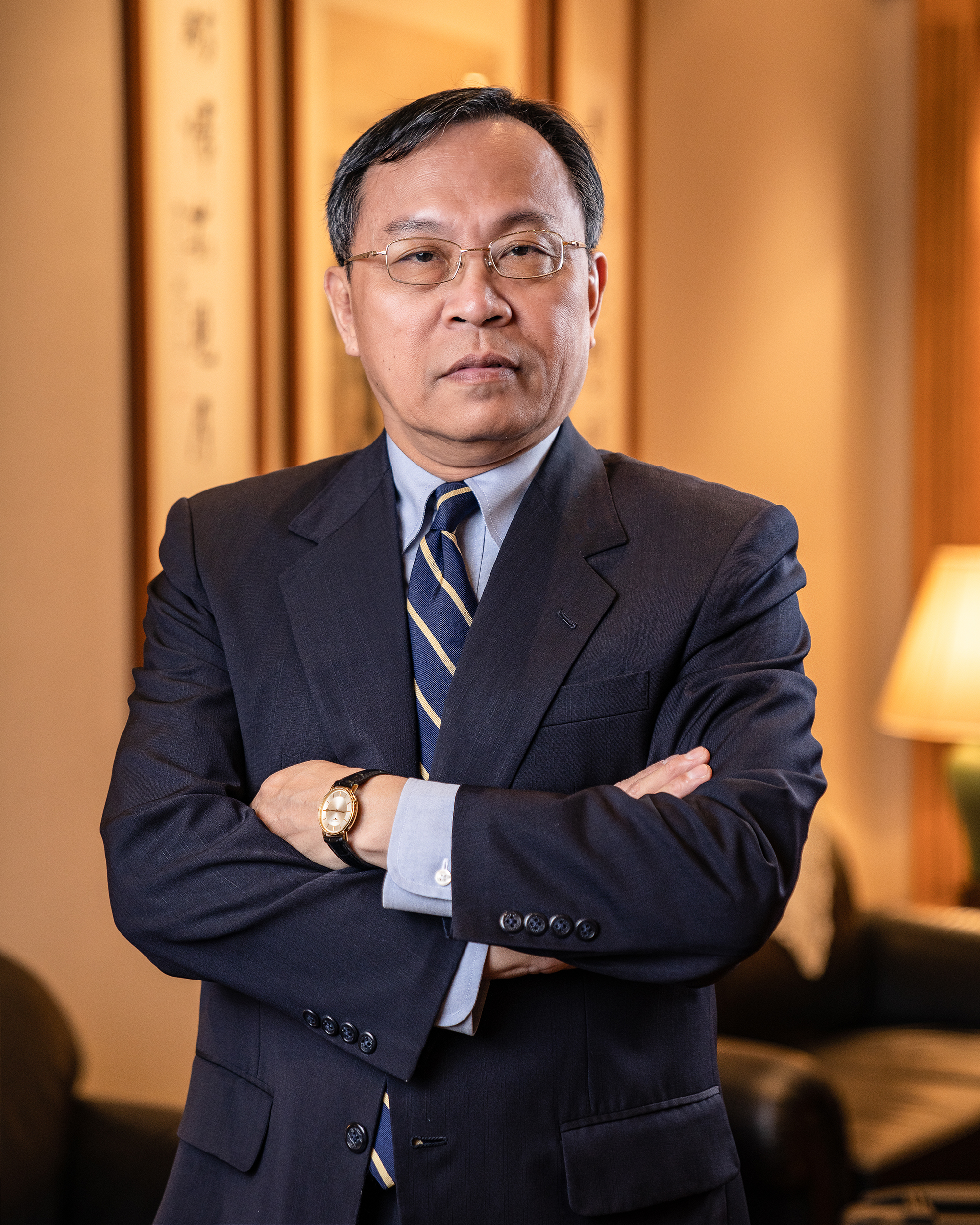專業形象照 台灣銀行董事長 呂桔誠