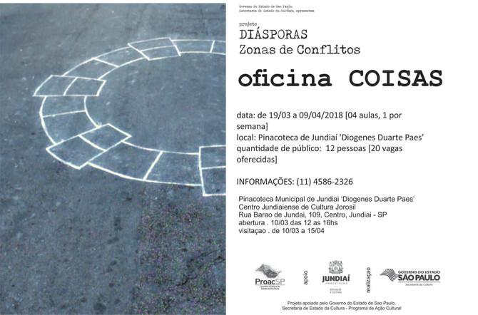 Programa educativo projeto DIÁSPORAS - ZONAS DE CONFLITOS