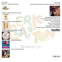 Eric Clapton Behind The Sun Complete 3.j