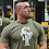 Thumbnail: Military Green Strength Team Fitted Tee Shirt