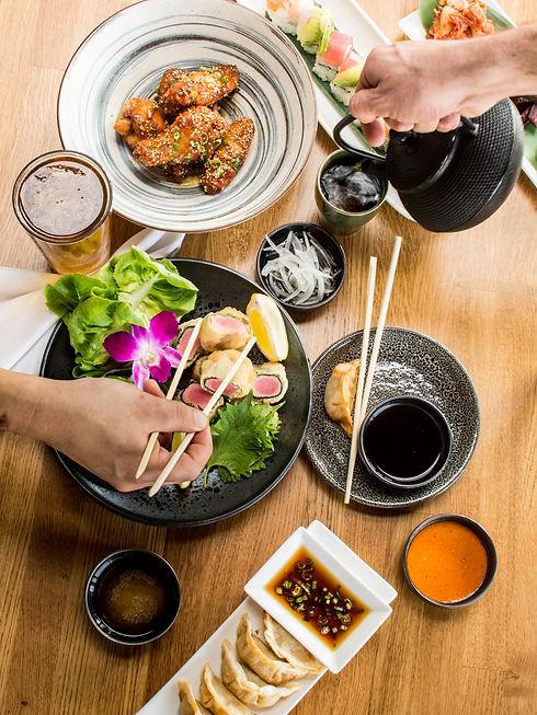 Obon sushi bar