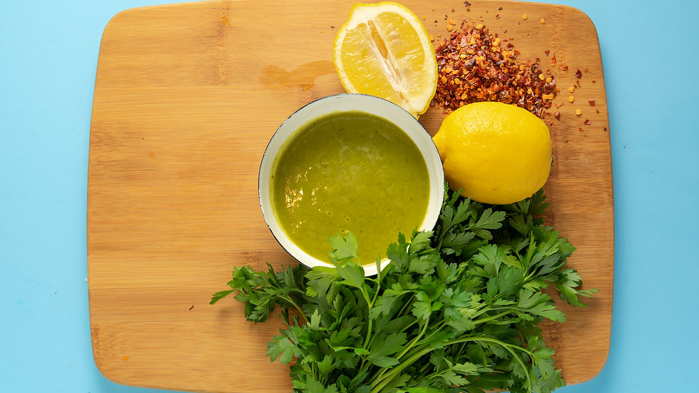 Lemon Chimichurri Vinaigrette