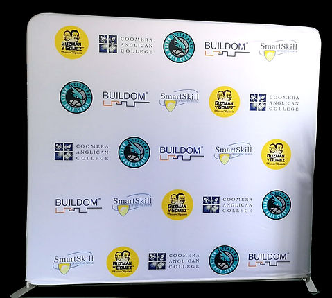 A 2.4m for Media Wall for Gold Coast Basketball Team