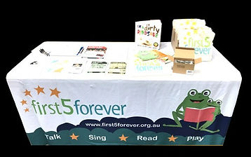 Printed Fitted Tablecloth 1.8m