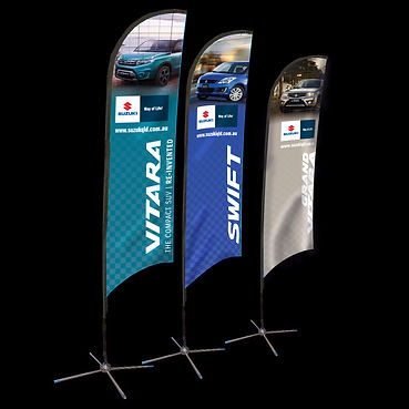 Suzuki Feather Flags
