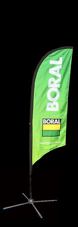 Boral Feather Flag Banner