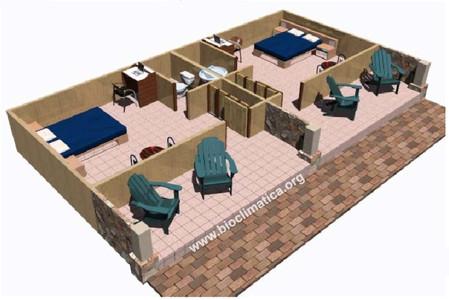 Detalle habitacion tipica