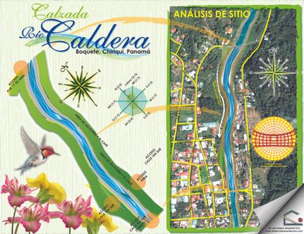 Peatonal Río Caldera