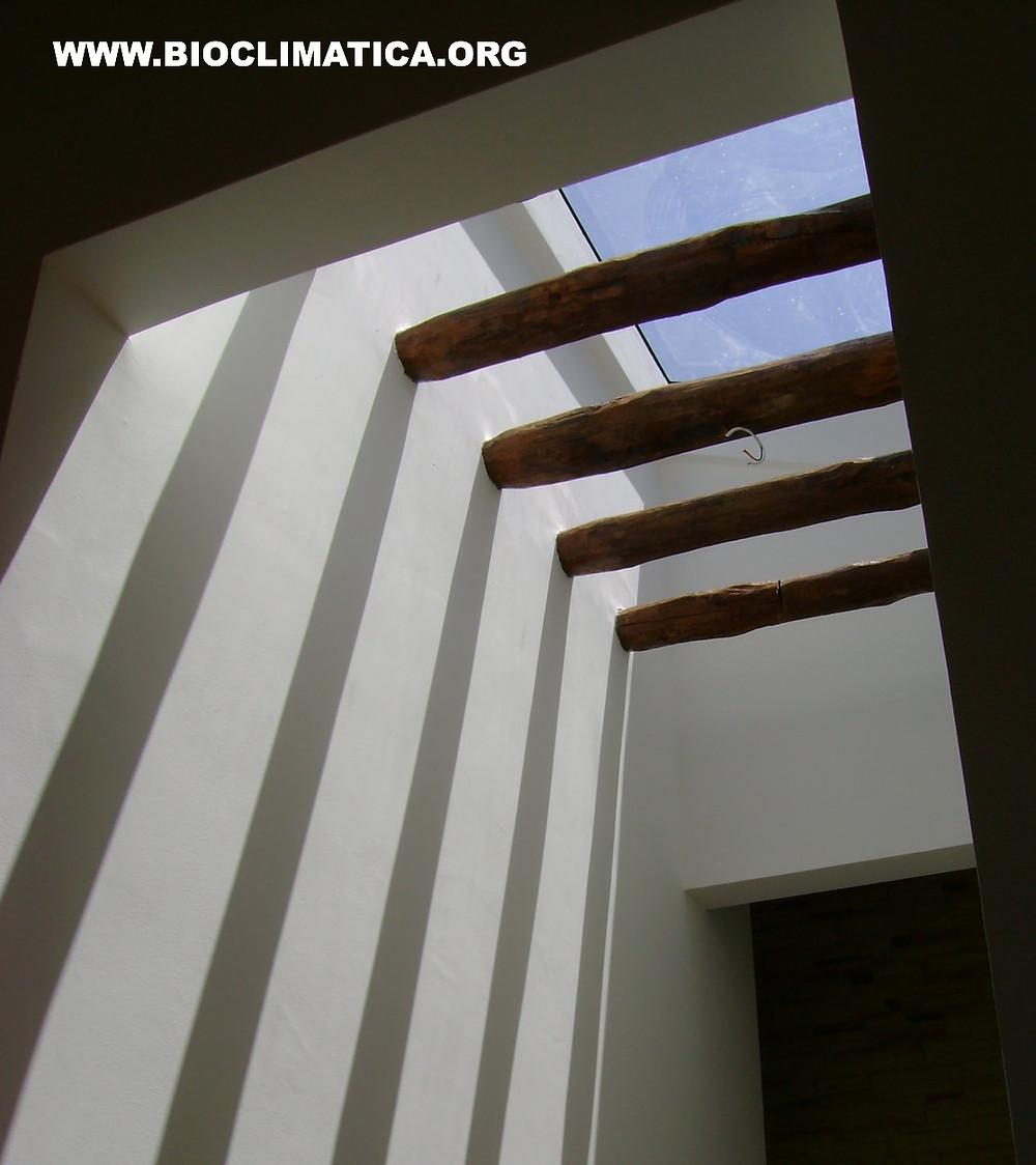 Iluminación Natural Controlada. Residencia Roma, Arq. Rodrigo De Las Casas.
