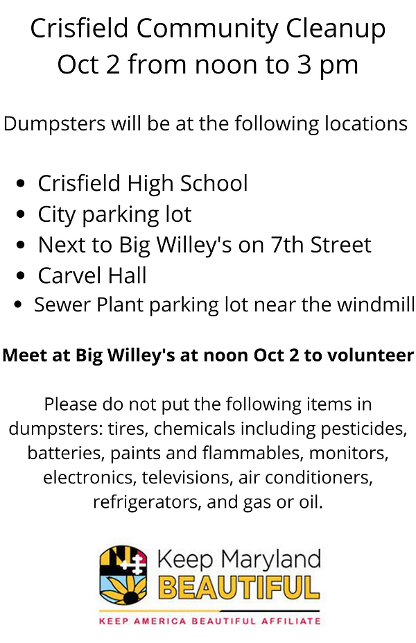 Crisfield Community Cleanup with locations (2).png