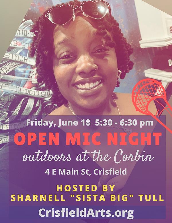 June 2021 open mic night at the corbin.p