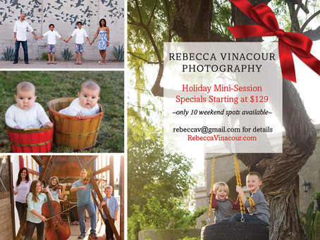 Book Your Holiday Mini Session!